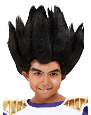 Vegeta Wig fyrir börn - Dragon Ball