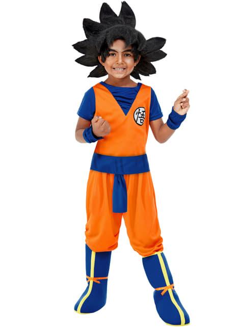 Fato de Goku para menino - Dragon Ball