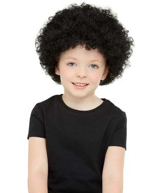 Afro pruik voor kinderen