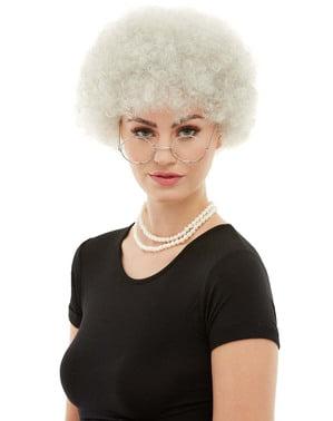 nenek rambut palsu