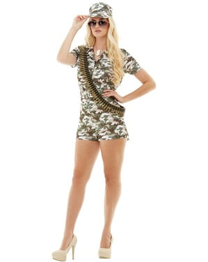 Soldier costume for women