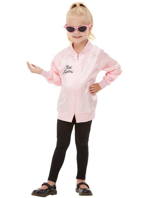 Chaqueta de Pink Ladies para niña - Disfraz Grease - barato