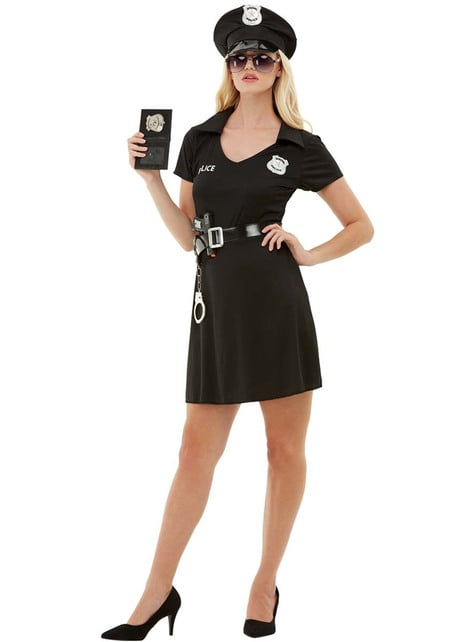 Politieagent kostuum voor vrouwen