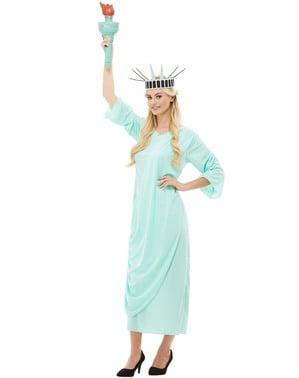 Frihedsgudinden Kostume