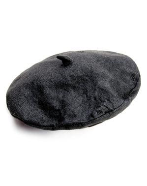 Basker svart