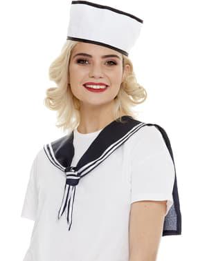 Sailor Sæt: Tørklæde og hat