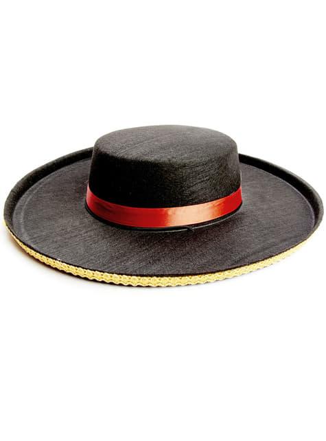 Sombrero de cordobés para adulto
