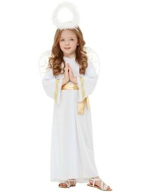 天使服装的孩子们