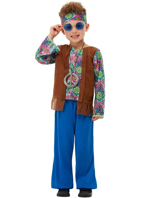 Strój hipisa dla chłopca