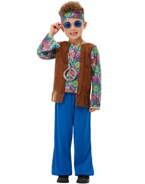 Kids Hippi búningur