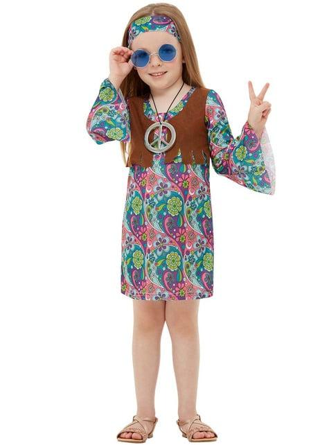 Fato de hippie para menina