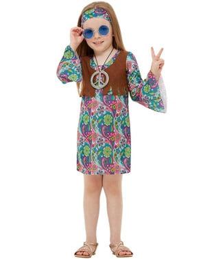 Hippie maskeraddräkt barn