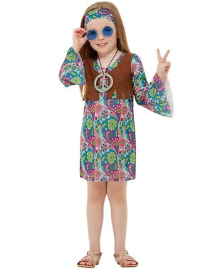 Kostým Hippie pre dievčatá