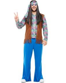 7270a917c6ea Vestiti hippie anni  60 🌼 Costumi figli dei fiori carnevale