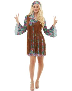 Déguisements hippies Années 60 » pour femme et enfant   Funidelia 6226cb13a091