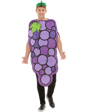 Disfraz de uva