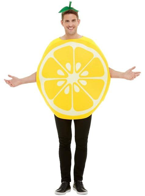 Disfraz de limón - adulto