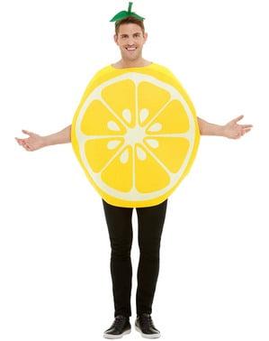 Лимонный костюм для взрослых