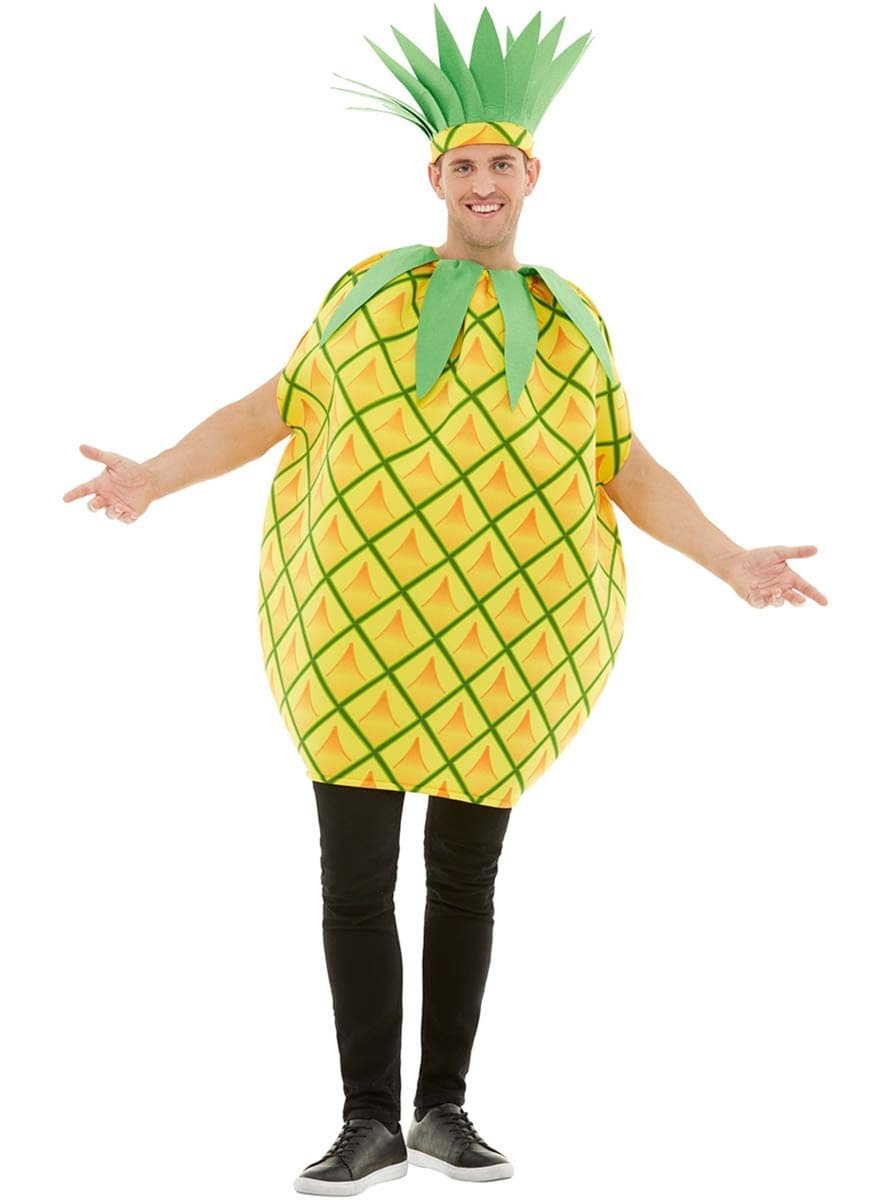 Classic Pineapple Costume for Adults . Express delivery  53e768c3fce2