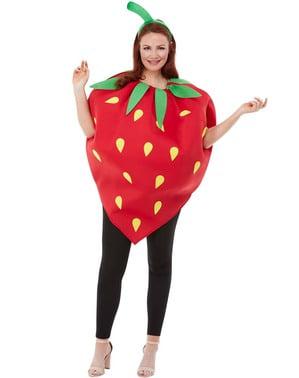 Déguisement fraise adulte