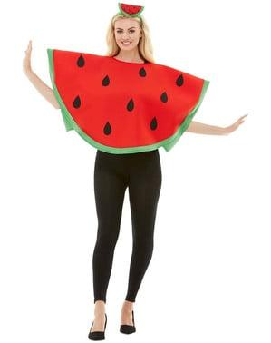 Watermeloen kostuum voor volwassenen