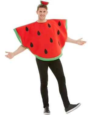 Арбузный костюм для взрослых