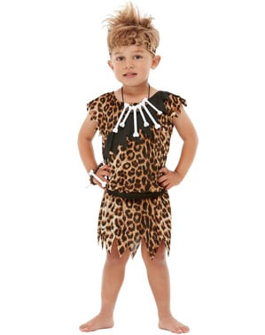 Caveman κοστούμι για αγόρια