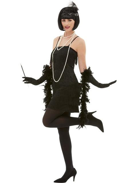Disfraz de charlestón años 20 para mujer - traje