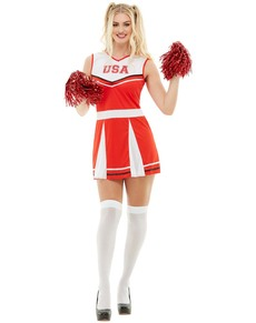 12a05a08f Fatos de Cheerleader  para Carnaval e disfarce