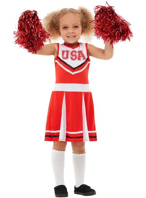 Fato de cheerleader para menina