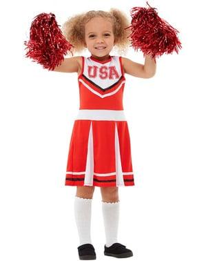 Strój cheerleaderki dla dziewczynek