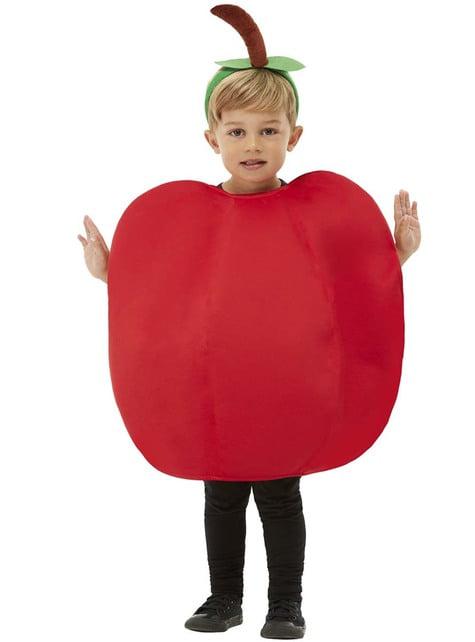 Strój jabłka dla dzieci