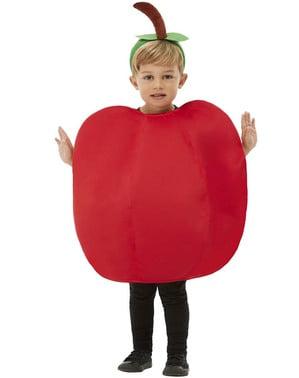 Детски костюм на ябълка