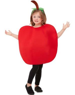 苹果服装的孩子们