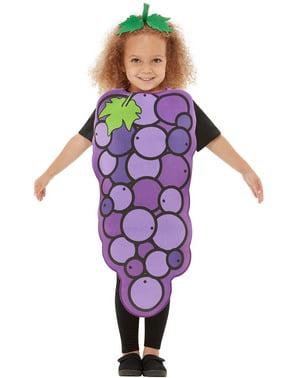 Виноградный костюм для детей