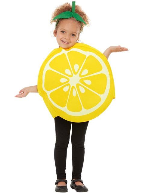 Fato de limão infantil