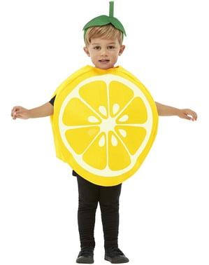 Fato de limão para criança