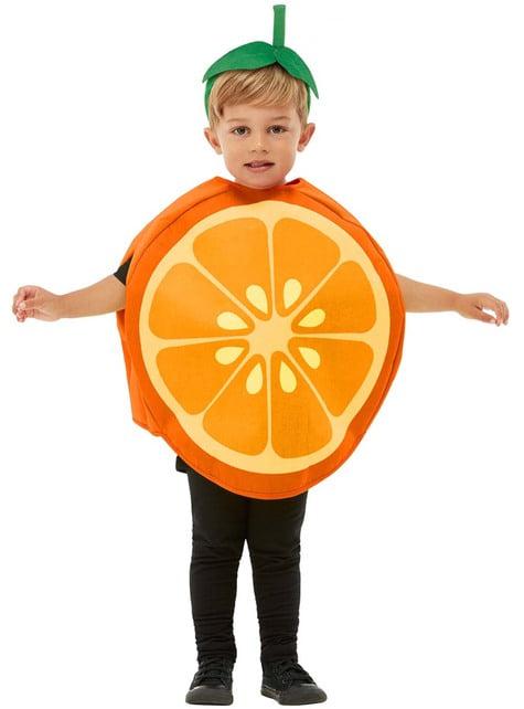 Sinaasappel kostuum voor kinderen