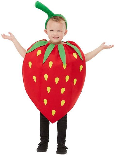 Erdbeerkostüm für Kinder