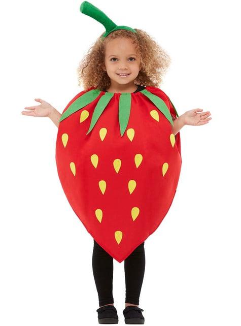 Disfraz de fresa infantil - infantil