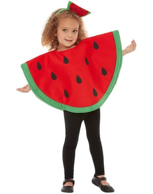 Vattenmelon maskeraddräkt för barn
