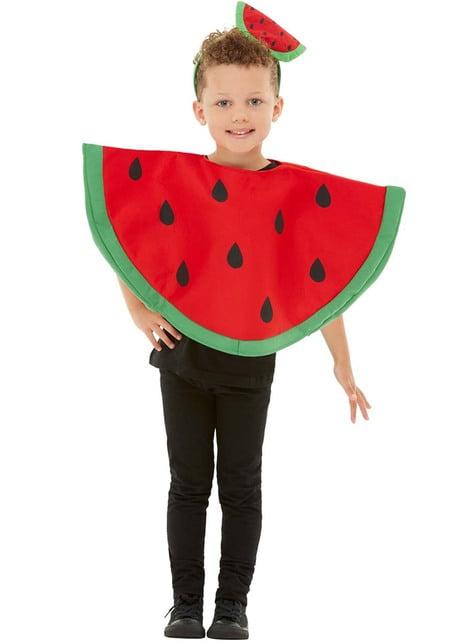 Fato de melancia infantil