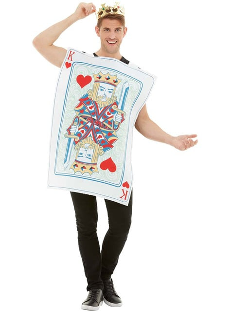 King of Hearts kostuum