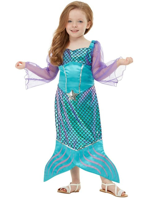 Fato de sereia para menina