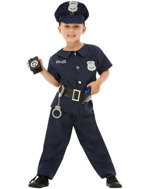 男孩警察服装