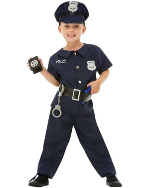 Polisdräkt för barn