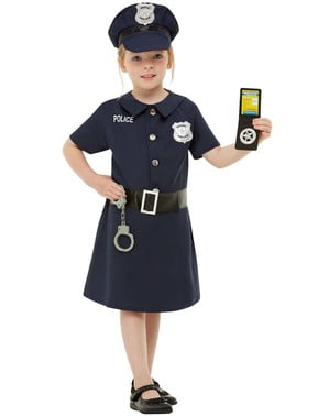Policija kostum za dekleta