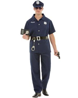 Politieagent kostuum voor mannen