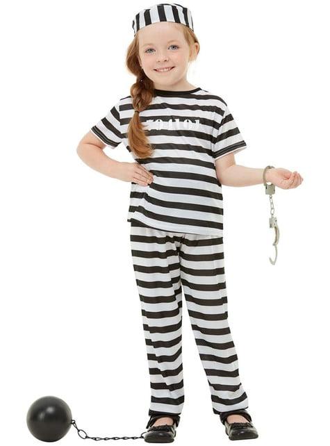 Fato de prisioneiro infantil