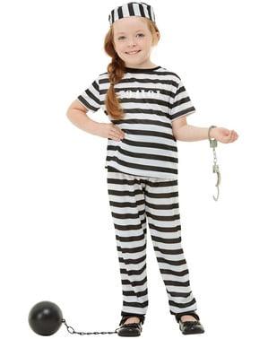 儿童服装的囚犯